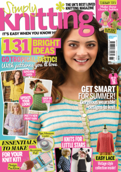 Simply Knitting Issue 161 July 2017