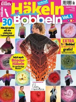 Simply Kreativ Häkeln mit Farbverlaufs-Bobbeln Vol. 1 - 1/2019