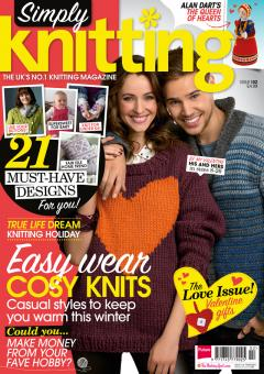Simply Knitting Issue 102 February 2013