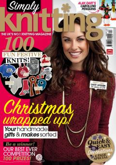 Simply Knitting Issue 100 December 2012
