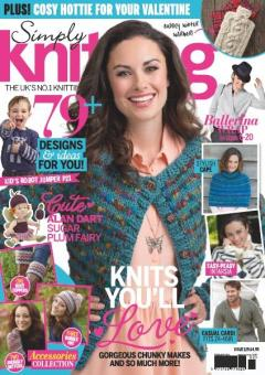 Simply Knitting Issue 129 February 2015