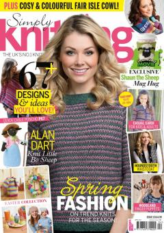 Simply Knitting Issue 131 April 2015