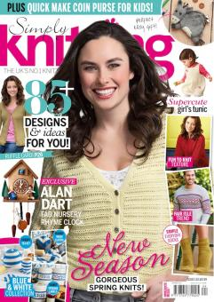 Simply Knitting Issue 132 / 2015