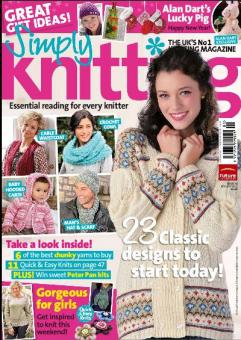 Simply Knitting Issue 75 - Januar 2011