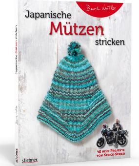 Japanische Mützen stricken - Stiebner 720935