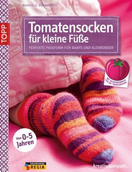 Tomatensocken für kleine Füße TOPP 6958