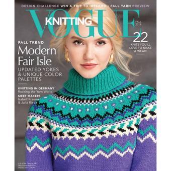 Vogue Knitting International - Fall 2018
