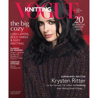 Vogue Knitting International - Late Winter 2018