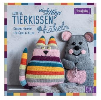 Woolly Hugs Lustige Tierkissen häkeln CV6619