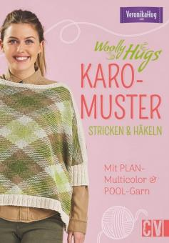 Woolly Hugs Karo-Muster stricken & häkeln CV6558