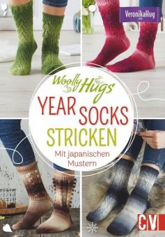 Woolly Hugs YEAR-Socks stricken CV6559
