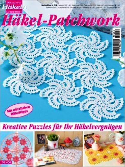 Dekoratives Häkeln - Häkel-Patchwork DE406 | Martinas Bastel ...