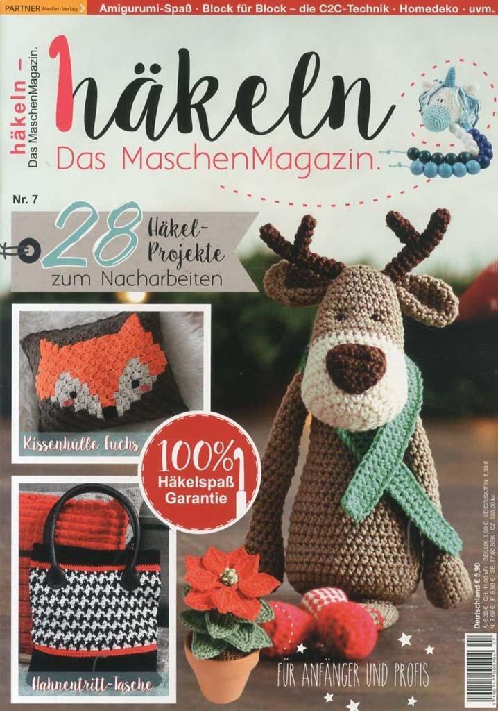 Häkeln Das Maschen Magazin 0717 Martinas Bastel Hobbykiste