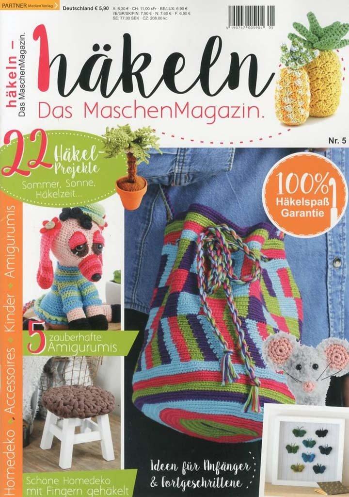 Häkeln Das Maschen Magazin 0517 Martinas Bastel Hobbykiste