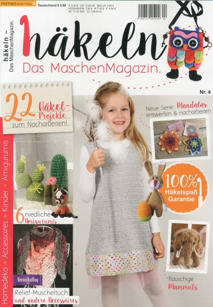 Häkeln Das Maschen Magazin 0417
