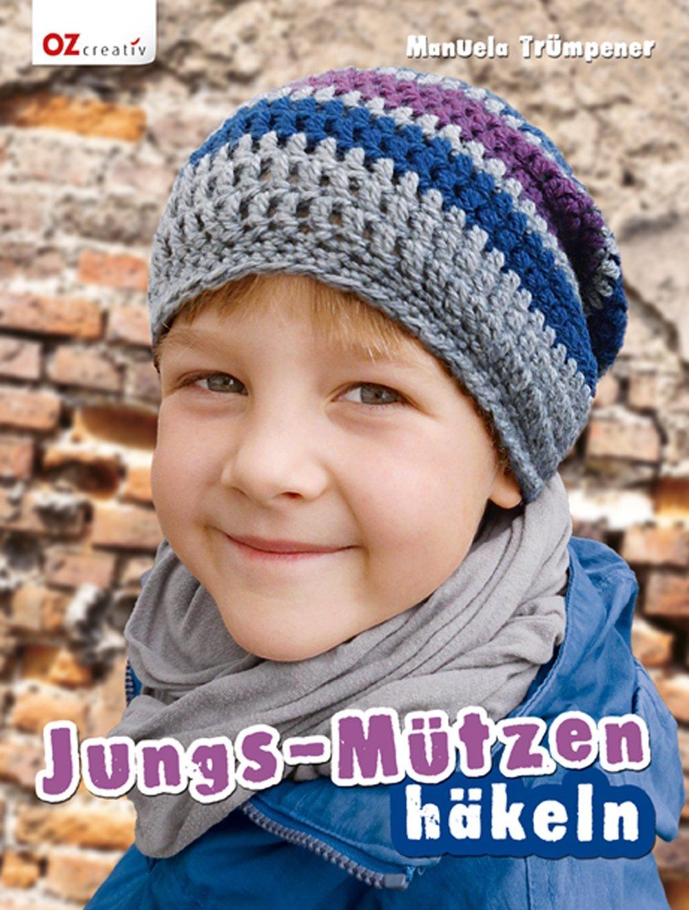Jungs Mützen Häkeln Oz6262