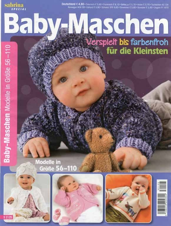 Sabrina Special Babymaschen S2125 Stricken Häkeln