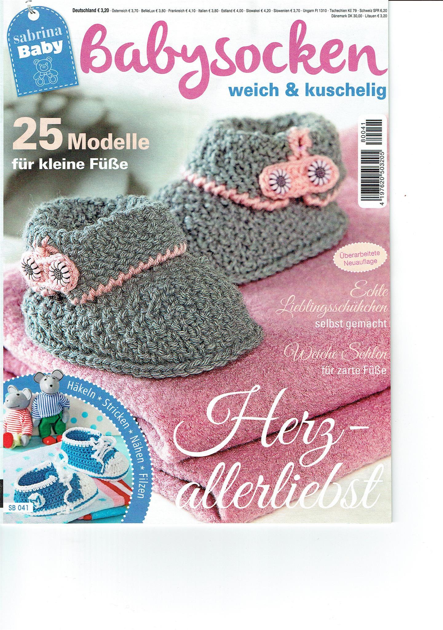 Sabrina Baby Babysocken Sb 041 Martinas Bastel Hobbykiste