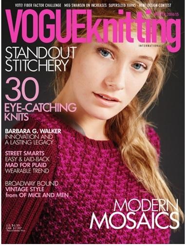 Knitting Vogue 2015 : Vogue knitting international winter