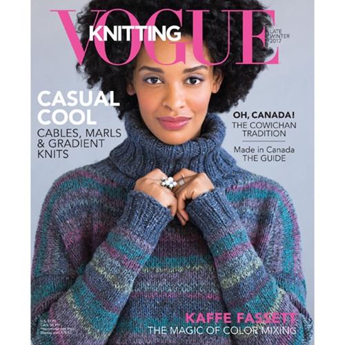 Knitting Books 2017 : Vogue knitting international late winter