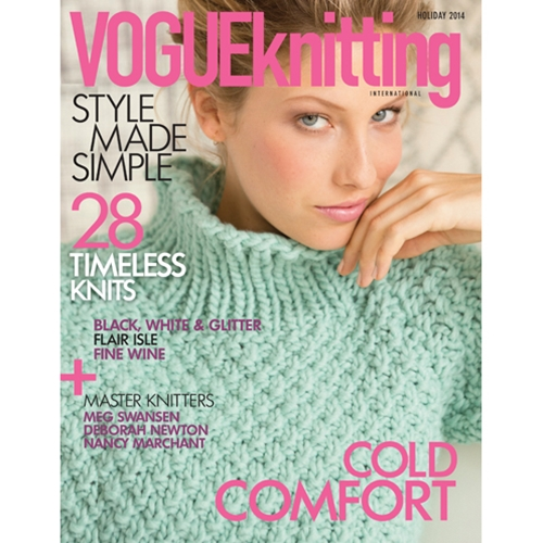 Knitting Vogue 2014 : Vogue knitting international holiday early winter