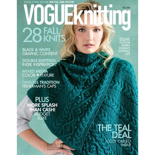 Vogue Dictionary Knitting Stitches : Vogue Knitting International - Fall 2015 Martinas Bastel- & Hobbykiste