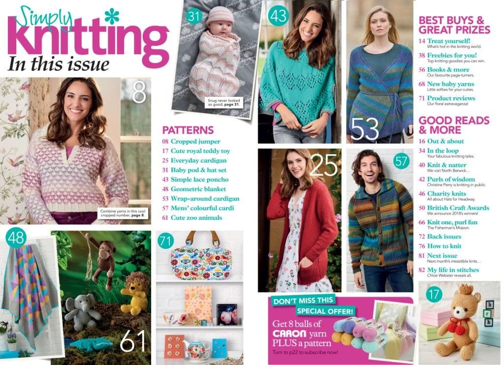 Simply Knitting Issue 171 2018